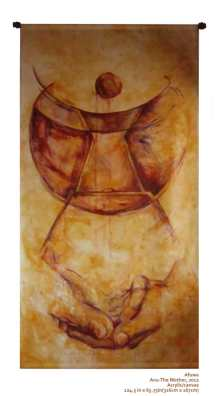 The Mother by Afuwa acrylic/canvas