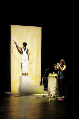 Anu 10 inter-arts performance with Melissa Hamer et al